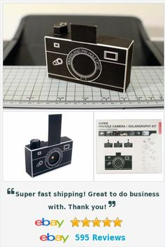 Pinhole Camera Solargraphy Kit DIY craft art inspiration kit http://www.ebay.com/itm/Pinhole-Camera-Solargraphy-Kit-/172259790778