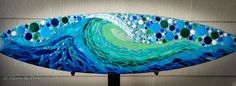 Love in Motion is one board in a series of three, all created for and currently displayed at the Camp Pendleton Hospital. See the other two boards: Alchemy of the Sea and Olas De Sonar…