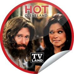 Hot in Cleveland Fan Sticker for Hot In Cleveland - April 4, 2012
