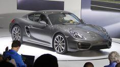 2014 Porsche Cayman: First Liveshots Of Stuttgart's Sexy Little Minx