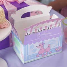 Pink Poodle 1st Birthday Party Favor #girls #party #BirthdayExpress