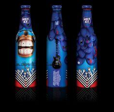 Bottle design by Claudio Corrales, via Behance