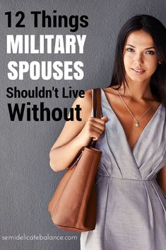 12 Things Military Spouses Shouldn't Live Without