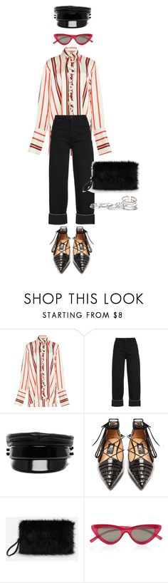 """""""Senza titolo #2876"""" by monsteryay on Polyvore featuring Paul Frank, Ruslan Baginskiy, Rue St., Le Specs and GUESS"""