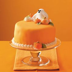 Ghost Cake Recipe from Taste of Home  #Halloween