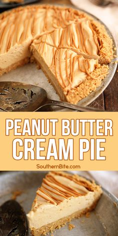 This recipe for my No-Bake Peanut Butter Cream Pie combines fresh, real whipped cream, peanut butter, and cream cheese in a creamy filling, but the real star is the crust made with Nutter Butter cookies and crushed peanuts!