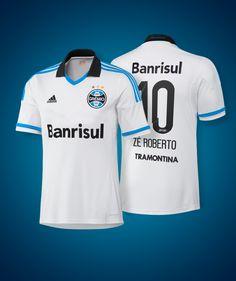 Passa-tempo. Como seria a camisa branca do Grêmio com patrocínio da #ADIDAS