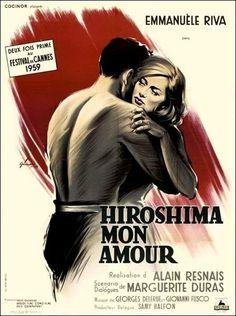 Hiroshima, mon amour (1959) Francia. Dir: Alain Resnais. Drama. Romance. II Guerra Mundial. Nouvelle vague - DVD CINE 33