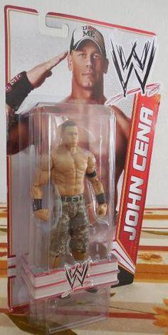 WWE John Cena Figura de Acción Básica Figura de acción articulada De Mattel /WWE Basic Action Figures Serie 18.