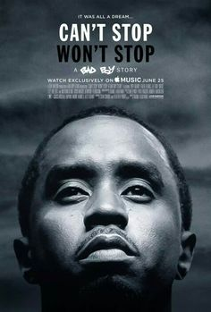 Live Nation Productions And Sean 'Diddy' Combs' Can't Stop Won't Stop: A Bad Boy Story* To Premiere At 2017 Tribeca Film Festival http://www.prnewswire.com/news-releases/live-nation-productions-and-sean-diddy-combs-cant-stop-wont-stop-a-bad-boy-story-coming-to-apple-music-300446975.html