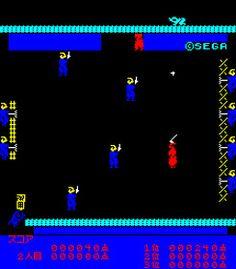 侍(サムライ)(セガ 1980年) アーケードゲーム 【レトロゲームラボ】