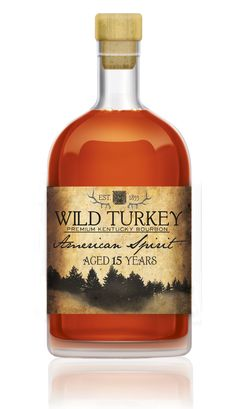 Wild Turkey American Spirit Good Whiskey, Cigars And Whiskey, Scotch Whiskey, Bourbon Whiskey, Bourbon Drinks, Wild Turkey Bourbon, The Distillers, Spirit Drink, Whiskey Distillery