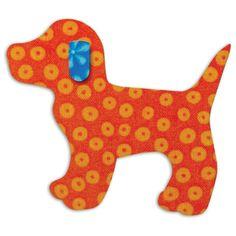 GO! Baby Fabric Cutting Dies Gingham Dog