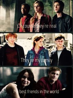 They are real to me!