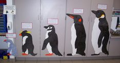 I love this idea! Students can stand next to a penguin, measure themselves and learn about a penguin. Perhaps you don't have the ...