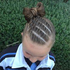 Versatile Braid Styles For Girls That Moms Must Try On Their Daughters - Stylendesigns braid hairstyles New Braided Hairstyles, Sporty Hairstyles, Baby Girl Hairstyles, Box Braids Hairstyles, African Hairstyles, Trending Hairstyles, Girl Haircuts, Toddler Hairstyles, Teenage Hairstyles