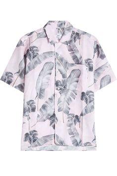 OAMC Printed Linen And Cotton Shirt. #oamc #cloth #