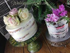 Semi nake cake designs at weddingcakesforyou.com