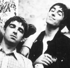 Noel and Liam Gallagher, my fucking heroes! Oasis Music, Oasis Band, Liam And Noel, You Make Me Laugh, Liam Gallagher, Britpop, Wonderwall, Paul Mccartney, Music Bands