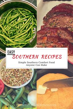 Easy Southern recipes anyone can make, all in one place! Healthy, preservative and additive-free! #comfortfood #resolutioneats #southernrecipes #southernfood #homemade #homecooking