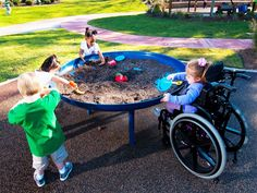 "This elevated sandbox is ADA Accessible for a great universal play piece in your playground, can also be used as a garden planter. Natural science and exploration are a key content area for early childhood education. Incorporate elements such as maps, telescopes, and science learning into the play environment to bring learning outdoors.    17' 6"" x17' 6"""