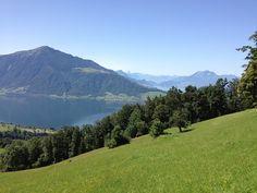 Noch vor Arbeitsbeginn.... by mprofi-ag, via Flickr Explore, Mountains, Digital, Nature, Travel, Switzerland, Lucerne, Photo Illustration, Naturaleza