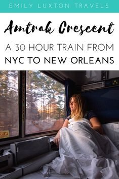 7 Reasons to Take the Train from New York to New Orleans Travel Amtrak Train Travel, Scenic Train Rides, Packing Tips For Travel, Travel Essentials, Travel Ideas, Budget Travel, Travel Inspiration, Train Vacations, Train Trips Usa