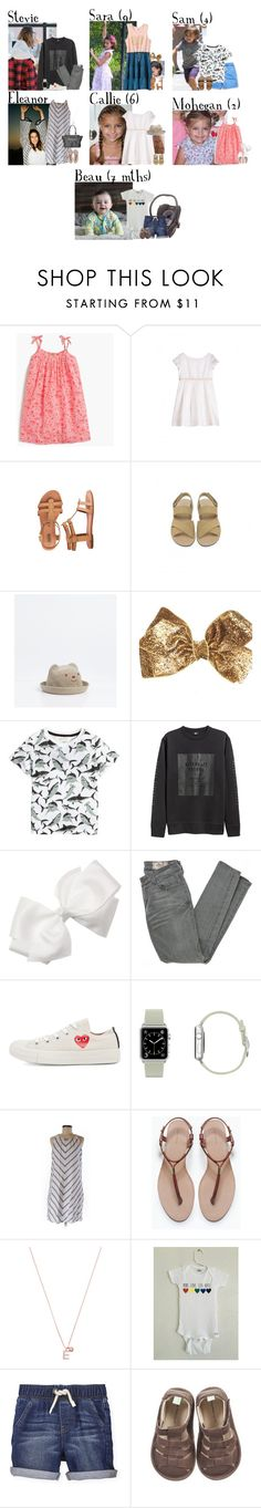 """""""Monday // Hair Cuts, Birthday Party, Playground & Errands // 1/16/17"""" by graywolf145 ❤ liked on Polyvore featuring J.Crew, Bonpoint, Matilda Jane, Carter's, Zara, H&M, Siwy, Play Comme des Garçons, Accessorize and StevieandEleanor"""