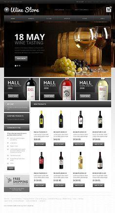 #Magento #Wine store. $180 #eCommerce