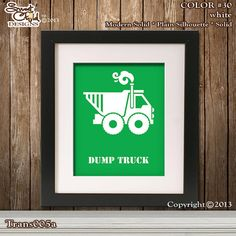 Bob the Builder Nursery Decor Dump Truck by SweetChildDesignsFL, $14.95