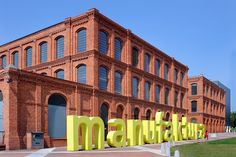 Manufaktura (5 Ulica Karskiego), Lodz, Poland - Old textile factory converted into entertainment complex