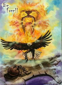 Break those chains! Prophetic Art, Verse, Big Cats, Holy Spirit, Blessed, Amazing, Painting, Inspiration, Bible Scriptures