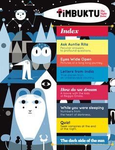 Timbuktu, iPad magazine for children.