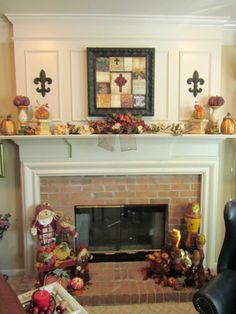 2013 Fall Decor ~ Family Room