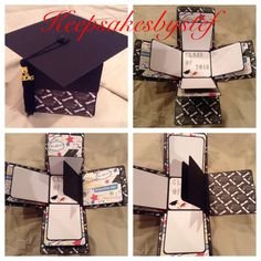 Graduation Explosion Box Photo Album   Graduation Exploding