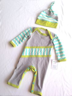Newborn One Piece Outfit- Going Home Outfit- Lil Cleo- READY TO SHIP
