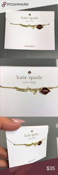 Kate Spade New York Necklace Kate Spade New York Necklace kate spade Jewelry Necklaces