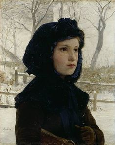 Albert Anker's artwork made him Switzerland's most popular genre painter of the 19th century, and his paintings have continued to enjoy a great popularity due to their general accessibility. Anker married Anna Rüfli in 1864, and they had six children together; the four children who did not die at an early age – Louise, Marie, Maurice and Cécile – appear in some of Anker's paintings.  Many Swiss postage stamps and other media have incorporated Anker's work.
