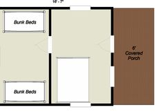 log floorplan