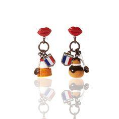 N2 - Tasty Bite Earrings Love Persimmon