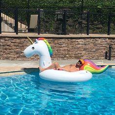 Flotador colchoneta unicornio