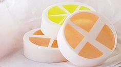 Diy orange soap