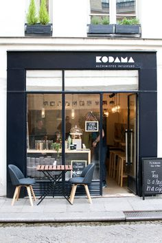 Cafe shop, small coffee shop e coffee shop design. Cafe Bar, Cafe Restaurant, Restaurant Design, Bakery Cafe, Cafe Shop Design, Cafe Interior Design, Café Exterior, Exterior Design, Mein Café