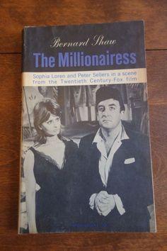 George Shaw The Millionairess Sophia Loren Peter Sellers penguin books