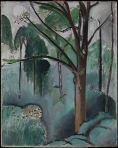 Henri Matisse, L'Etang de Trivaux, 1917