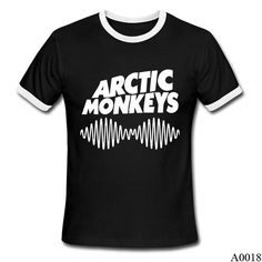 Indie Rock And Roll Band Arctic Monkeys Sound Wave Shirt T Shirt