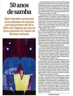#BethCarvalho 2015 Folha de Londrina