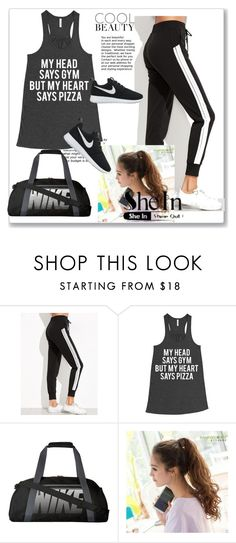 """""""Shein #4"""" by abbybo on Polyvore featuring NIKE"""