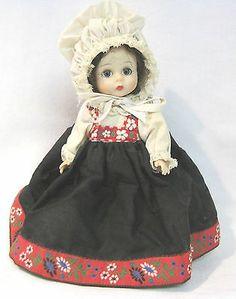 Vtg Madame Alexander International Bent Knee Non-Walker Doll Norway 1972 Wendykn