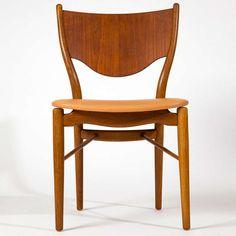 Finn Juhl, pair of chairs BO-46 image 3